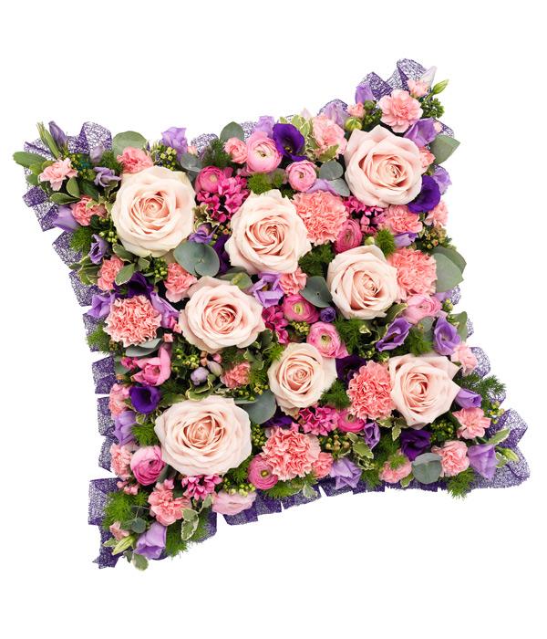 Pink and mauve cushion mightylinksfo